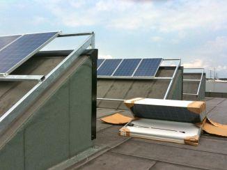 PV panelen magazijn zwolle