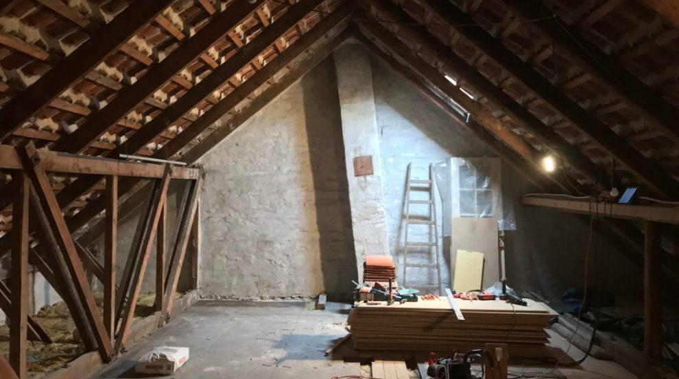 zolderverdieping zonder trap