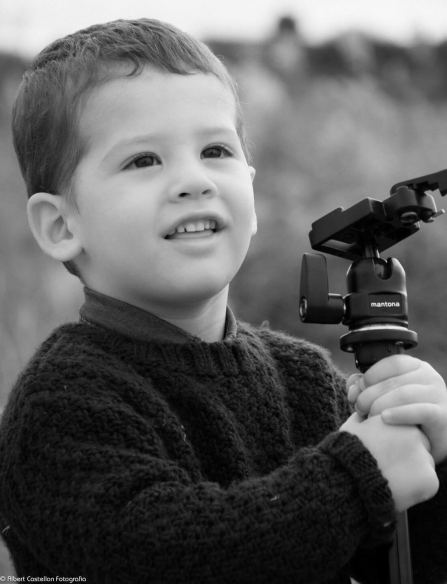 El petit fotògraf