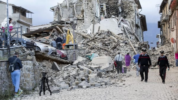 Terremoto: il calcolo del rischio del vostro comune