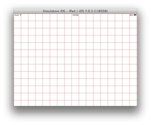 objectivec draw matrix