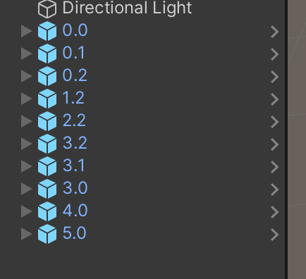 unity3d rename objects from code
