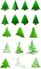 alberi natale stilizzati