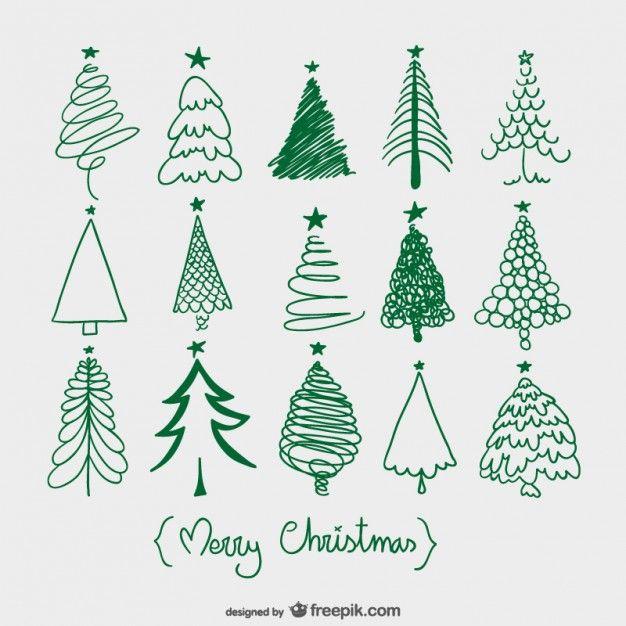 Alberi Di Natale Stilizzati Immagini.Come Disegnare Alberi Di Natale Stilizzati Maestro Alberto