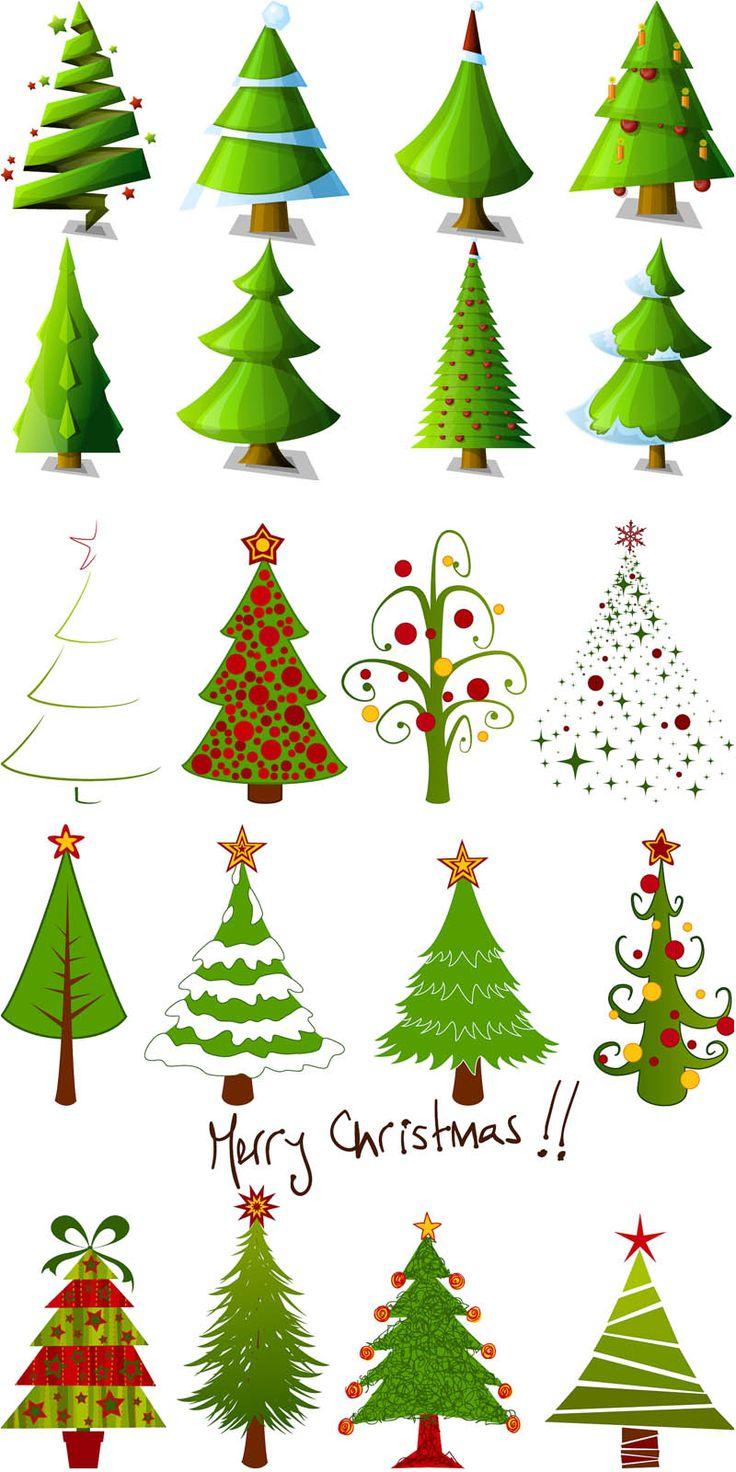 Come Disegnare Alberi Di Natale Stilizzati Maestro Alberto