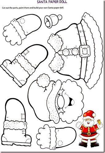 Lavoretti Di Natale Per Bambini Da Stampare.Natale Maestro Alberto