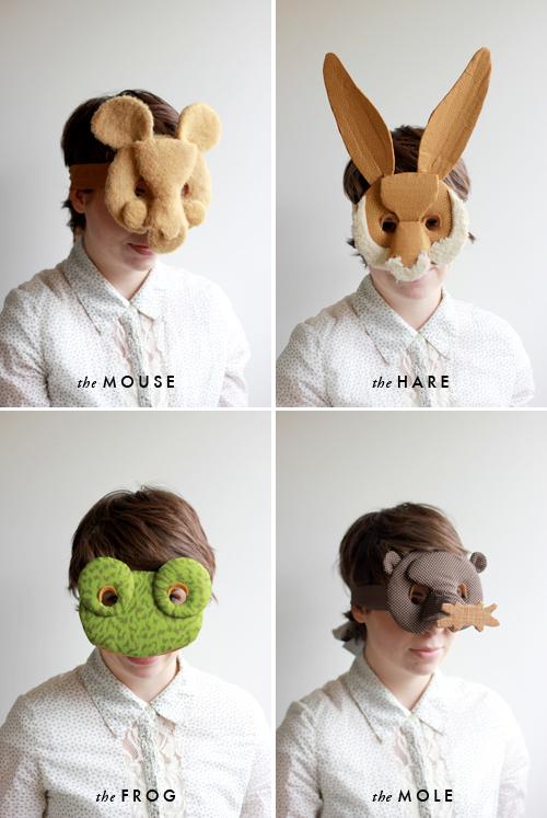10 modelli stampabili di animali per creare maschere di for Maschere stampabili