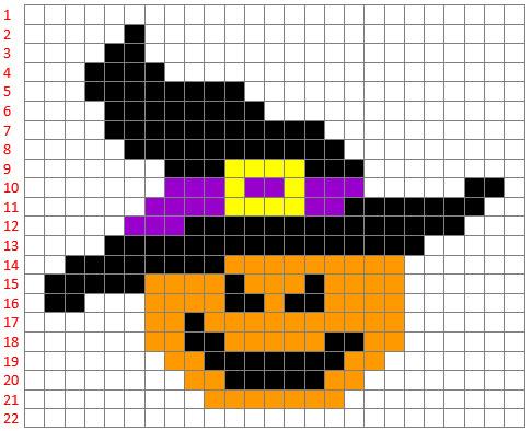 Coding e Pixel Art: la zucca streghetta di Halloween - Maestro Alberto