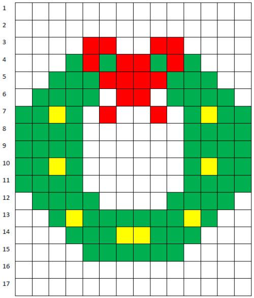 Coding Unplugged E Pixel Art La Scheda Facile Della