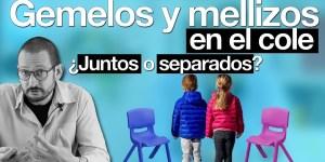 múltiples juntos gemelos y mellizos juntos en la escuela Alberto Soler Píldoras de Psicología