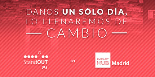 Stand OUT Program Day by Impact HUB