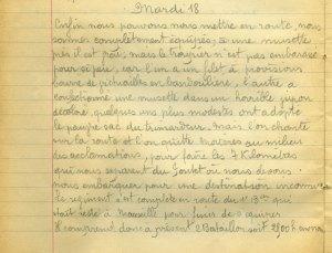 19140818-000 Départ pour Le Pontet