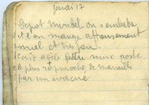 19140917-001 On s'embête au dépôt d'éclopés de Verdun/Miribel