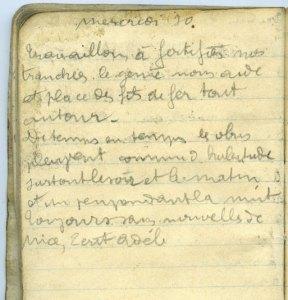 19140930-001 Travaillons à fortifier nos tranchées