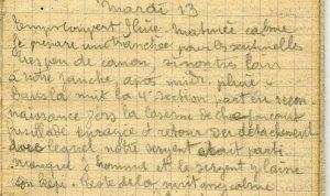 19141013-002 Une section part en reconnaissance