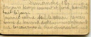 19141018-001 J'ai fait mes débuts comme fourrier