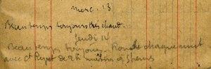 19150513-001 Attaque à l'ouvrage Pruneau