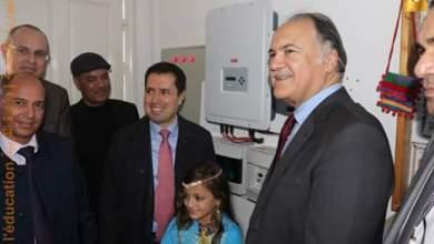 Photo of العاصمة : اطلاق برنامج نموذجي لاستعمال الطاقة الشمسية في المدارس ( صور)