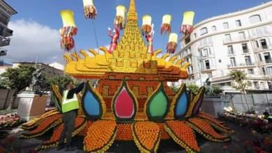 Photo of فرنسا : صور من مهرجان الليمون في دورته 88 بمينتون