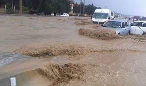 صورة أمطار غزيرة في الكاف تُخلّف جُملة من الأضرار بالكاف