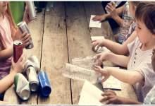 Photo de Les enfants savent bien trier les déchets…
