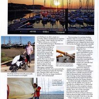 Thomas being famous in Yachting Monthly Page 3