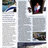 Thomas being famous in Yachting Monthly Page 4