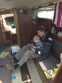 Thomas and the Skipper reading