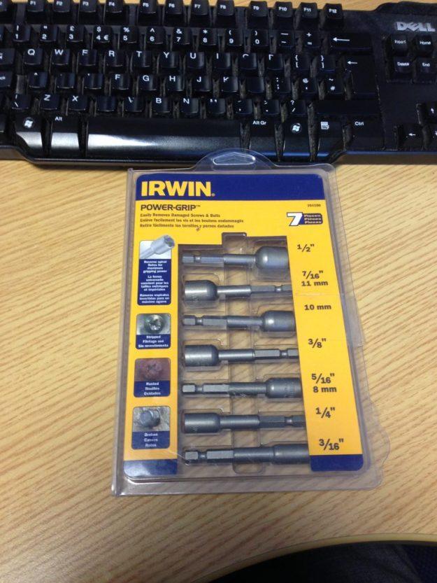 Irwin stud extractors