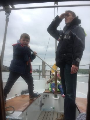 Thomas on the helm