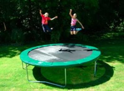 Jump-on-a-trampoline