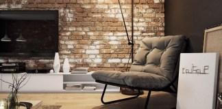 caramida nefinisata pentru pereţi interior