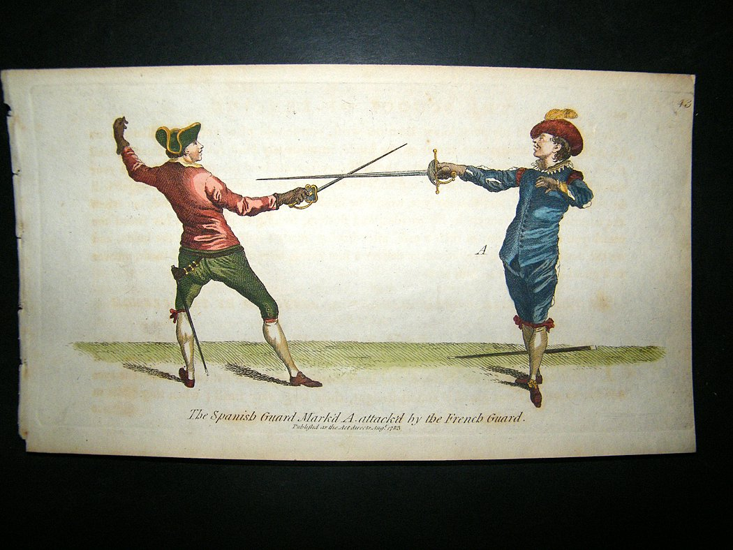 https://i1.wp.com/www.albion-prints.com/ekmps/shops/albionprint/images/angelo-sword-fencing-1787-hand-col.-spanish-guard-attack-by-french-guard-27881-p.jpg