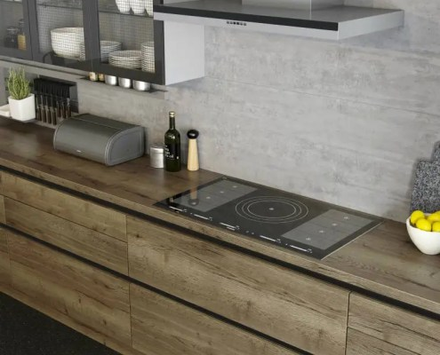 Cooking with induction Mereway Kitchens