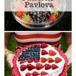 Patriotic Pavlova