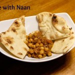 Chole with Naan