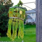 Fall Yarn Chandelier