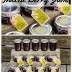 Easy Mixed Berry Jam