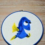 Finding Dory Hoop Art
