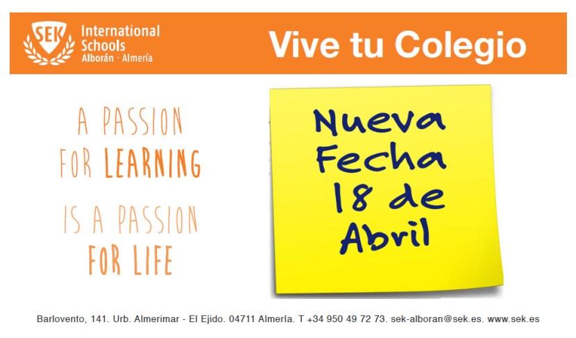 Vive Tu Colegio 2015 NuevaFecha