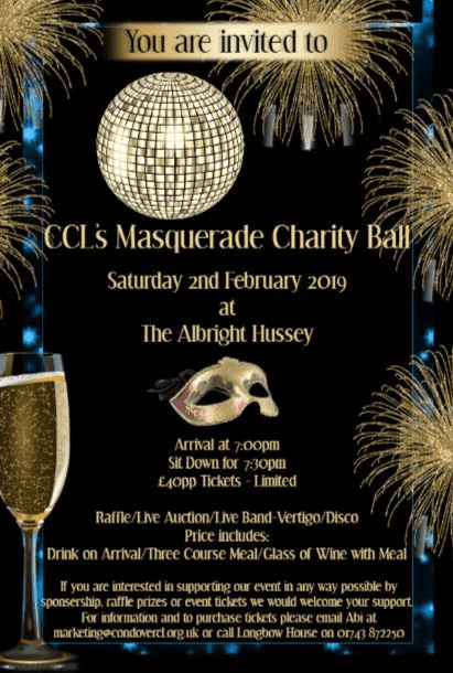 CCLS MASQUERADE CHARITY BALL Albright Hussey Hotel