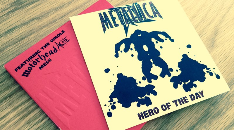 Metallica - Hero Of The Day (limited edition CD single; 1996)