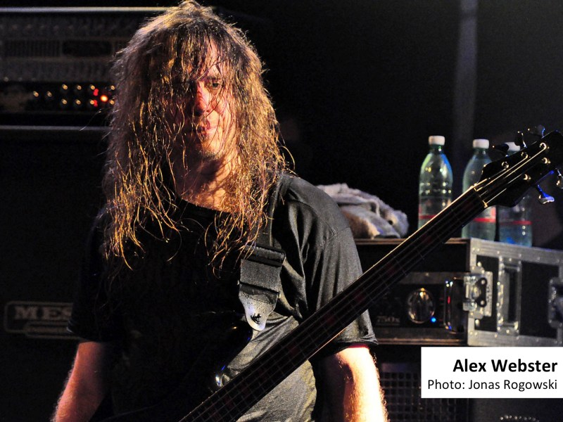 Alex Webster, Cannibal Corpse