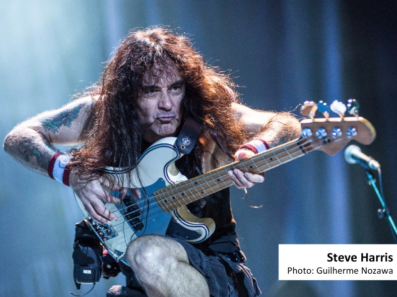 Steve Harris, Iron Maiden