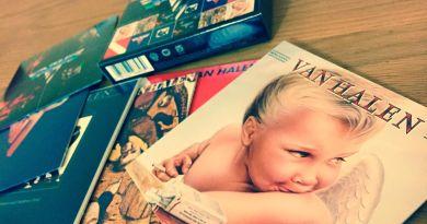Van Halen «Studio Albums 1978-1984» (2013) | www.AlbumsThatRock.com