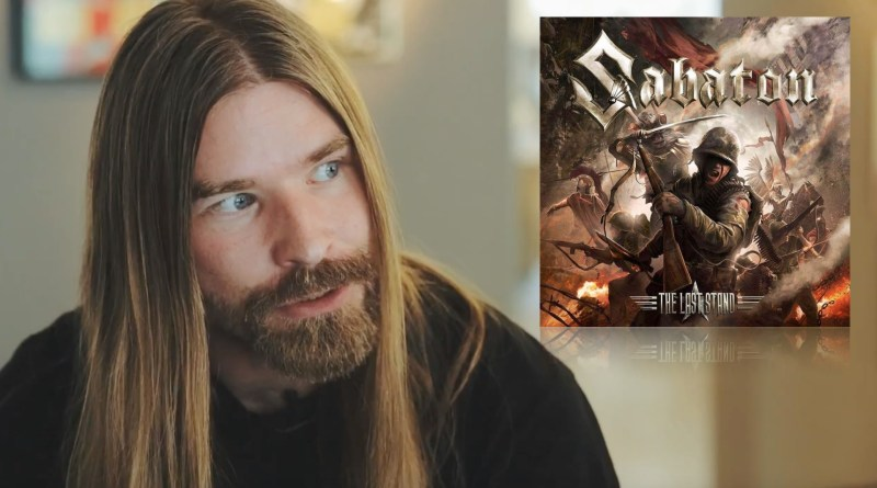 Sabaton The Last Stand (2016) and Pär Sundström