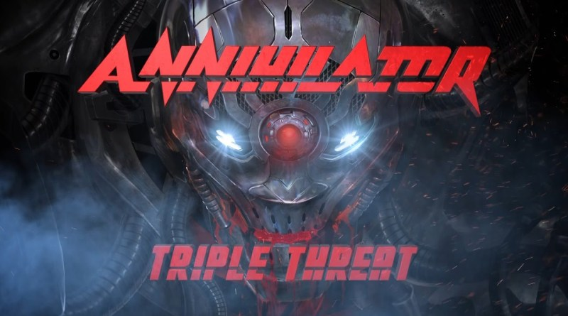 Annihilator - Triple Threat (2017)