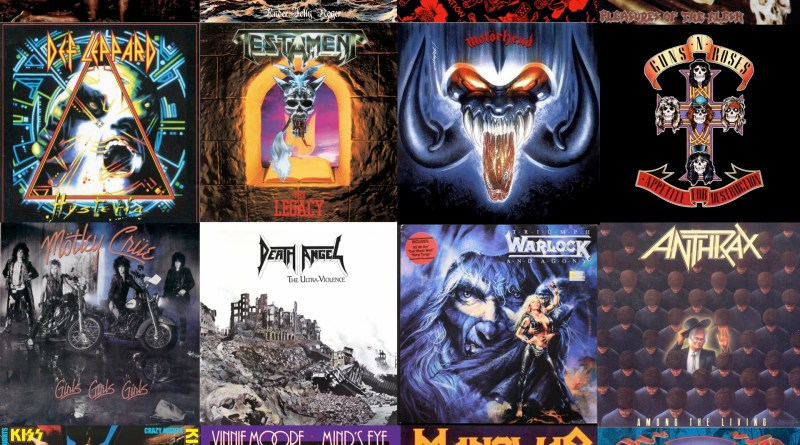 The Best Hard N' Heavy Albums of 1987