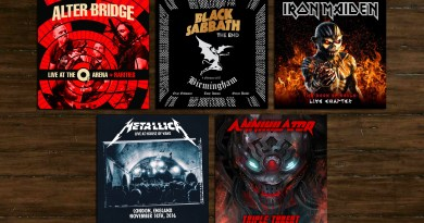 The Best Hard N' Heavy Live Albums of 2017
