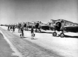 Photo of Albuquerque Air Base at-11 Trainers